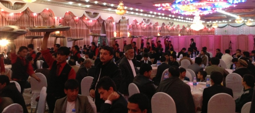 Difficult for Afghan Legislation to Ban Big Budget Wedding