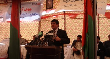 Tajikistan Power line extended from Kunduz to Takhar