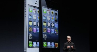 Apple Unveils New iPhone 5