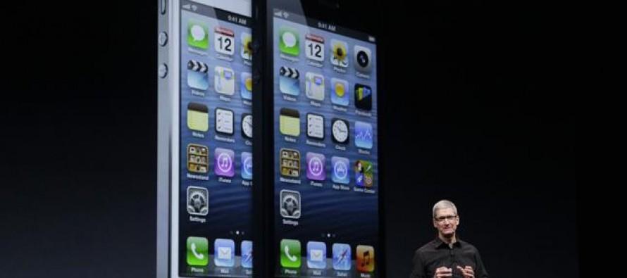 Apple Unveils New iPhone 5
