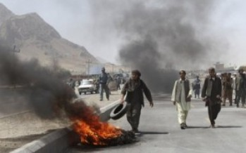 Afghans' need for political violence insurance