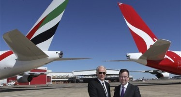 Qantas Forges a 10-year alliance with Emirates