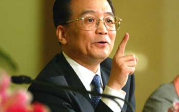 """""""China's economic growth is still within the target range"""" – China's Premier, Wen Jiabao"""