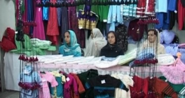 Afghan women handicraft exhibition