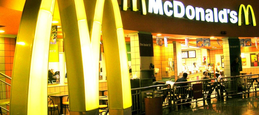 McDonald's profit hit by the strength of the dollar