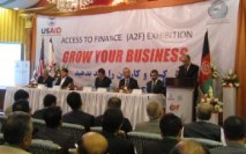 USAID and Afghanistan Banks Association Open Access to Finance Exhibition