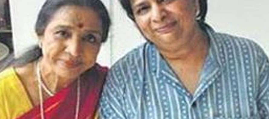 Asha Bhosle's daughter shoots herself out of depression