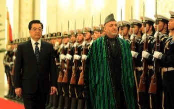 China illuminating their presence in Afghanistan more than before