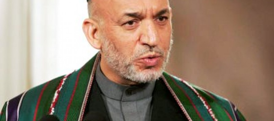 Karzai blames the US for making corruption worse in Afghanistan