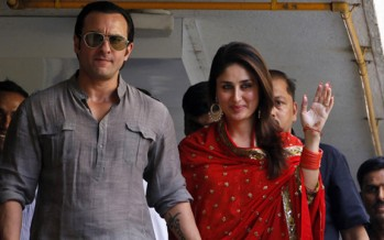 Saif-Kareena tie marriage knot