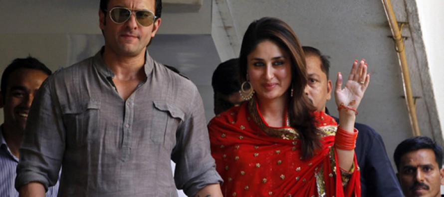 Saif-Kareena tie marriage knot