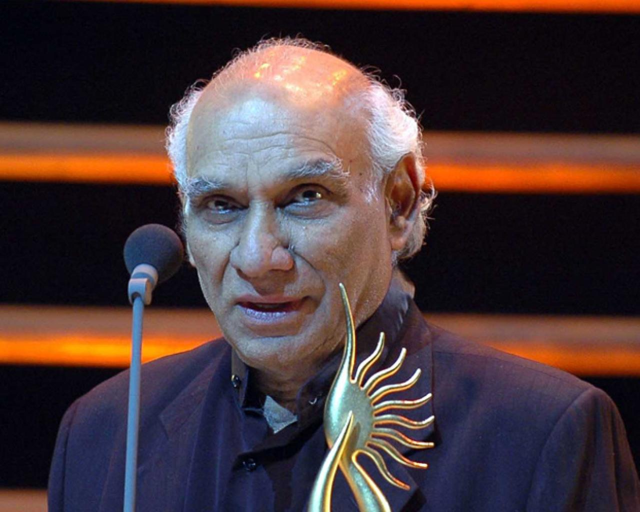<b>Yash Chopra</b> passed away before the release of his last directorial movie, <b>...</b> - yash-chopra