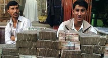 US dollar drops against Afghani