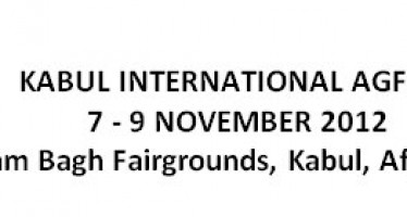 AGFAIR exhibition in Kabul, Afghanistan