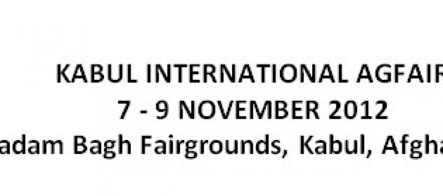 AGFAIR exhibition in Kabul, Afghanistan