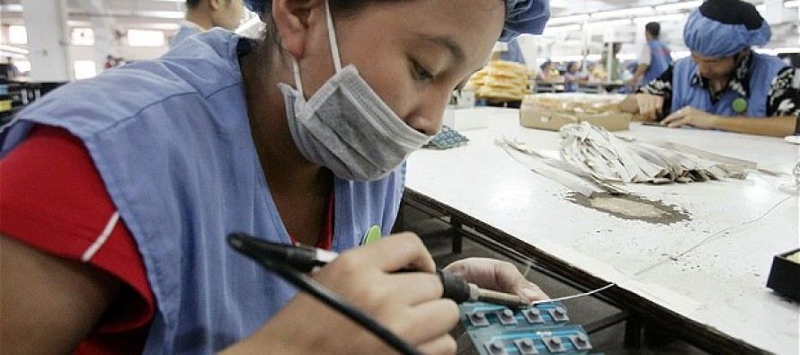 China's manufacturing sector rebounding