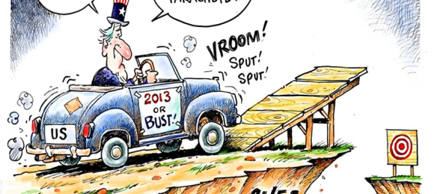 Who, What, Why: Who first called it a 'fiscal cliff'?