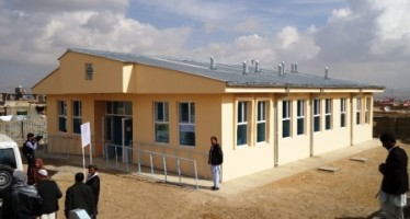 Health Center for Ghazni Refugee Town opened