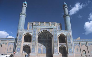 Renovation of Jumah Mosque in Herat