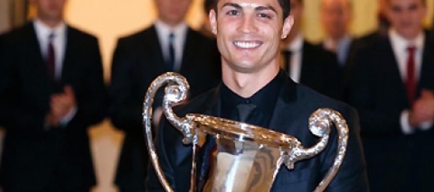 Ronaldo gets sports award