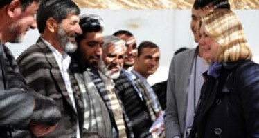 UK's support for Afghanistan's award winning tax project