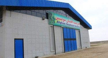 Success of the first Soybean Processing Program in Afghanistan