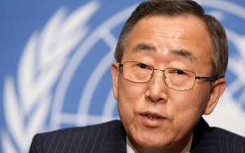 Ban Ki-moon underscores employment opportunities for Afghans