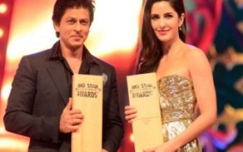 Shahrukh Khan won 2 trophies at Big Star Entertainment Awards