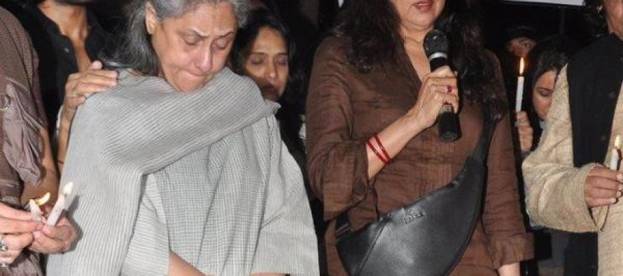 Jaya Bachchan weeps for dead gang-rape victim