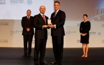 Sayed Saadat Mansoor Naderi, winner of the peace through commerce award