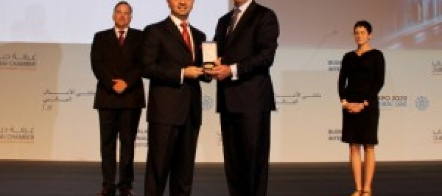 Sayed Saadat Mansoor Naderi, winner of the peace through commerce award