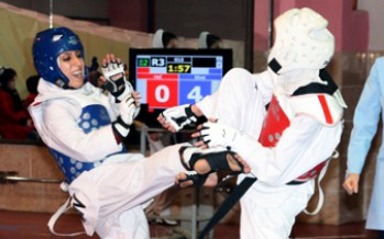 Afghans Score 2 Silver on Day 1 of Fajr Taekwondo Competitions