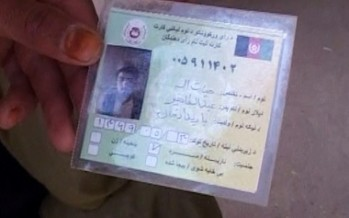 IEC Opposes Karzai's Comments on Old Voter Cards