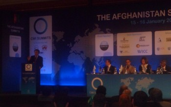 Afghanistan attends the third CWI Summit