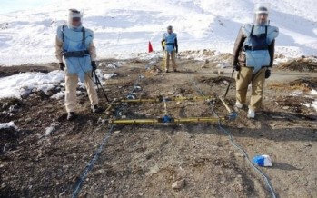 Japan funds a demining project in Surobi district of Kabul