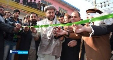 Asphalting of the main road in Zone II of Kapisa inaugurated