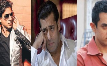 Shahrukh Khan beats Salman Khan and Aamir Khan