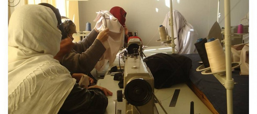 Afghan women's business flourished by small loans