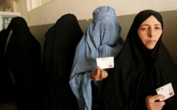 Afghan Elections Crucial For Future of the Country