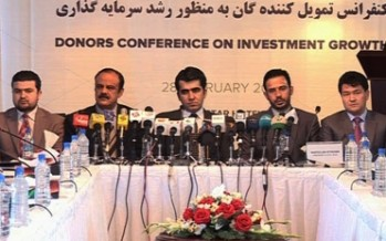 AISA presents Afghanistan's investment plans to international donors