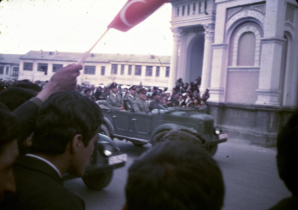An Afghan Army parade through Kabul.