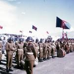 Afghan military band.