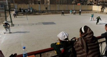 Inauguration of a new building for Baghlan's Sports Department