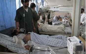 China-built hospital helps Afghan war victims