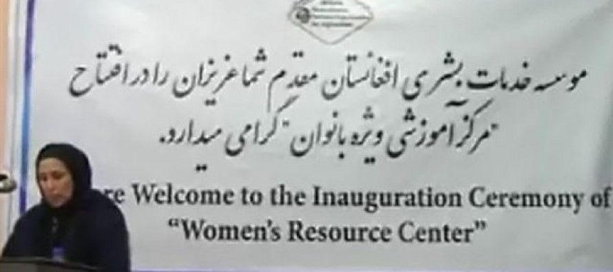 Resource Center for Afghan women in Balkh