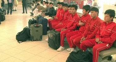 Afghan Teen Football Team Heads to AFC Asian Cup Qualifiers