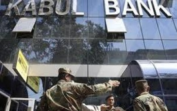 Ministry of Finance rejects Kabul Bank's only bid