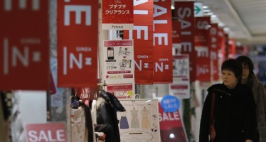 Japan's deflation on the rise