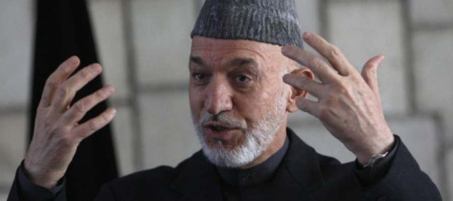 President Karzai declares support for Afghan banks