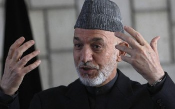 President Karzai seeks citizens' participation in making Afghanistan green